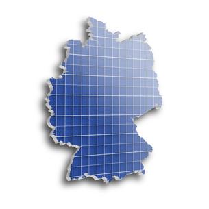 solar energy in germanyの写真素材 [FYI00820235]