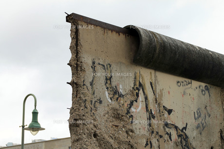 wall remains on bernauer strasseの素材 [FYI00820818]