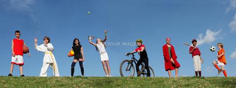 sport_actionの写真素材 [FYI00821105]