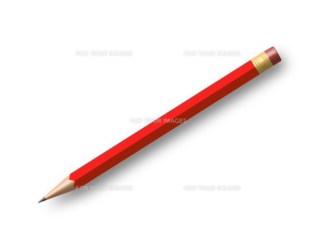 pencil redの写真素材 [FYI00822475]