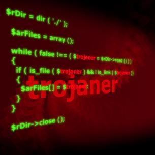 trojans - codeの写真素材 [FYI00823057]