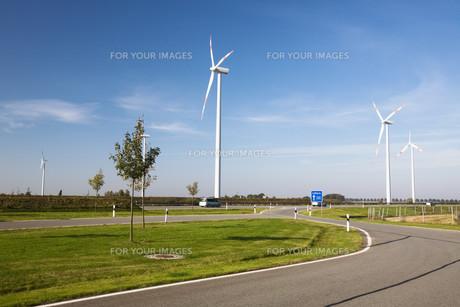 wind turbinesの写真素材 [FYI00823090]
