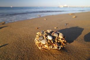steiklumpen on the beachの写真素材 [FYI00823154]