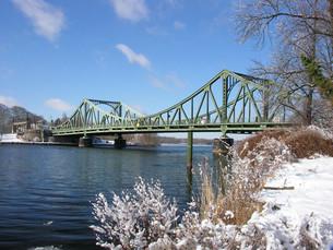 glienicke bridgeの写真素材 [FYI00823215]