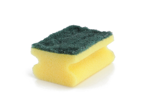 sponge - kitchen spongeの写真素材 [FYI00823495]