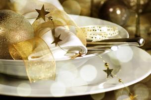 christmas dinnerの写真素材 [FYI00823776]