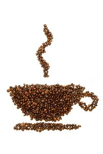 price increase in coffeeの写真素材 [FYI00823825]