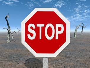 stop signの写真素材 [FYI00824206]
