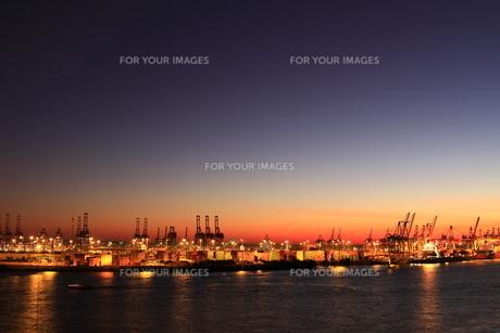 docklands hamburgの写真素材 [FYI00824340]
