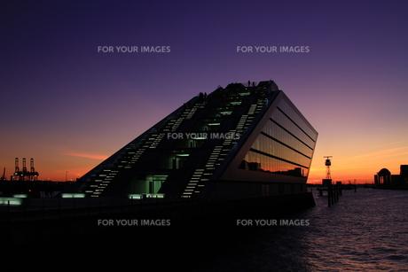 docklands hamburgの写真素材 [FYI00824374]