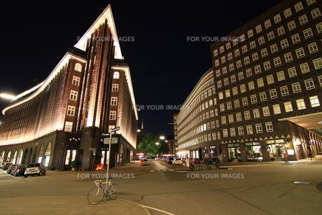 chilehaus hamburgの写真素材 [FYI00824383]