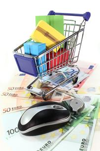 online shoppingの写真素材 [FYI00824442]