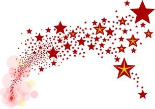 star - shooting star - backgroundの写真素材 [FYI00824785]