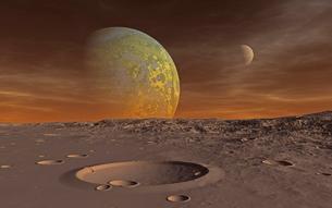 mars craterの写真素材 [FYI00824937]