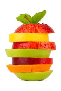 fruit tower 2の写真素材 [FYI00825255]