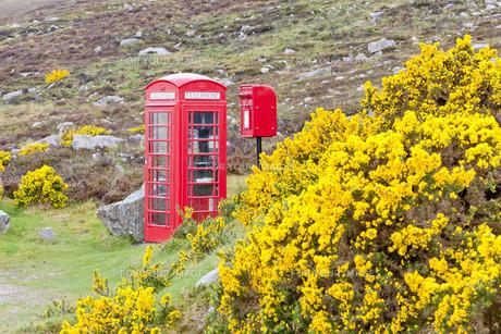 telephone boxの写真素材 [FYI00825883]