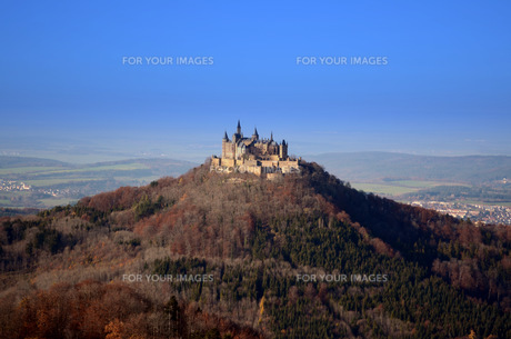 castle hohenzollernの写真素材 [FYI00826351]
