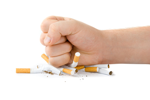 cigaretteの写真素材 [FYI00826499]