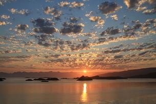 midnight sunの写真素材 [FYI00827822]