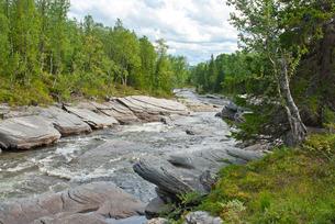 river in laplandの写真素材 [FYI00828100]