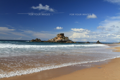 cliffs of algarveの写真素材 [FYI00828239]