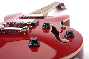guitar semiakkustikの写真素材 [FYI00830393]