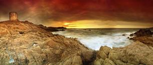 sunrise_sunsetの写真素材 [FYI00830523]