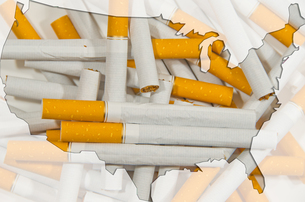 cigaretteの写真素材 [FYI00830977]