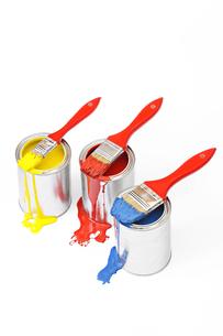 paint bucketの写真素材 [FYI00831242]