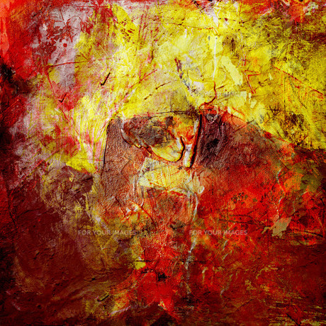 painting-textures on canvas-structureの素材 [FYI00831245]
