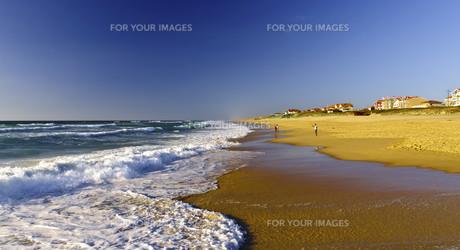 mimizan beach 3の写真素材 [FYI00832621]