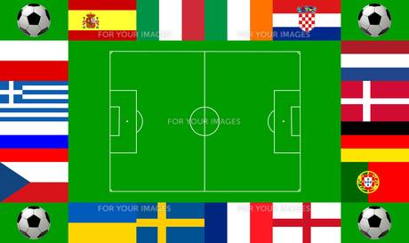 european championship 2012の写真素材 [FYI00832884]