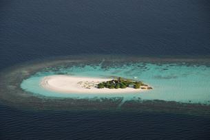 desert island maldivesの写真素材 [FYI00832907]