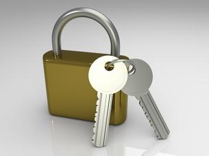 lockの写真素材 [FYI00833037]