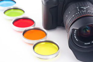 color filterの写真素材 [FYI00833470]