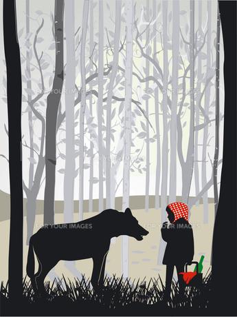 little red riding hoodの写真素材 [FYI00834698]