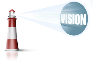 lighthouse and visionの素材 [FYI00834807]
