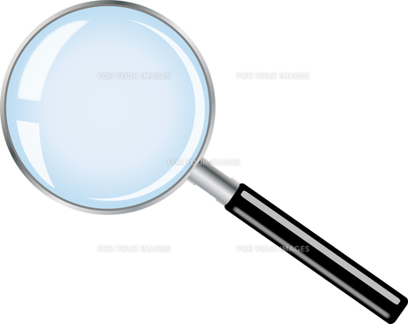 magnifying glassの写真素材 [FYI00835546]