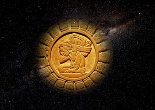 mayan calendar 2012の写真素材 [FYI00836213]