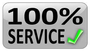 100% serviceの写真素材 [FYI00836586]