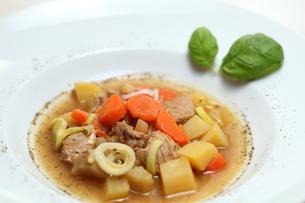 beef stewの写真素材 [FYI00836762]