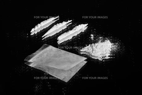 cocaineの写真素材 [FYI00837325]
