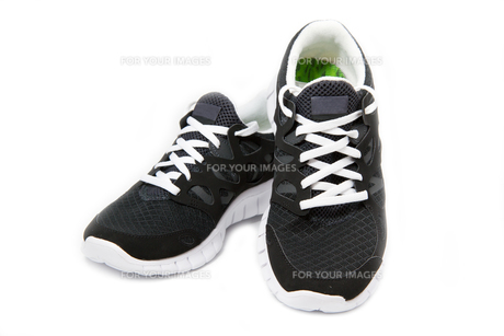sports shoes,jogging shoes on a white backgroundの素材 [FYI00837889]