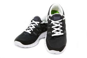 sports shoes,jogging shoes on a white backgroundの写真素材 [FYI00837889]