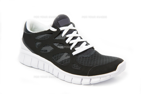 sports shoes,jogging shoes on a white backgroundの素材 [FYI00837920]
