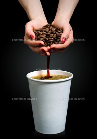 handmade coffeeの素材 [FYI00838064]