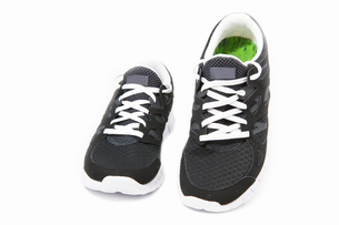 sports shoes,jogging shoes on a white backgroundの素材 [FYI00838213]
