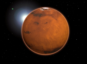 planet marsの写真素材 [FYI00838267]