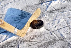 ice hockeyの写真素材 [FYI00838441]