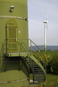 wind turbineの写真素材 [FYI00838967]